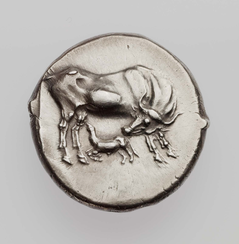 Stater of Dyrrachion about 340–280 B.C.