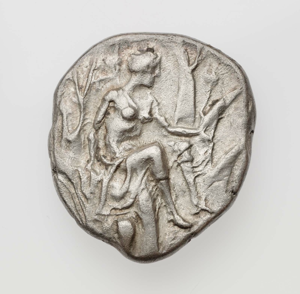 Stater of Gortyna with seated Europa 420–400 B.C.