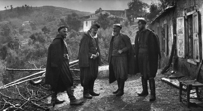 Crete, the Mandaka brothers in the village of Lakki