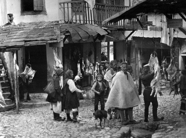 Meatmarkets of Paramythia, 1913.