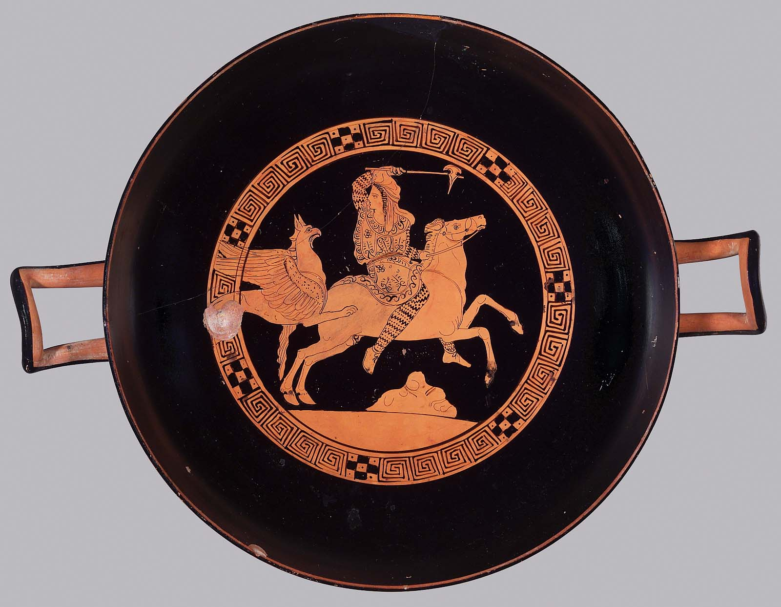 kylix about 4th century B.C. Athens