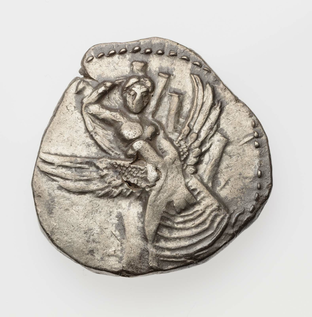 Stater of Gortyna with Europa in tree 431–300 B.C.