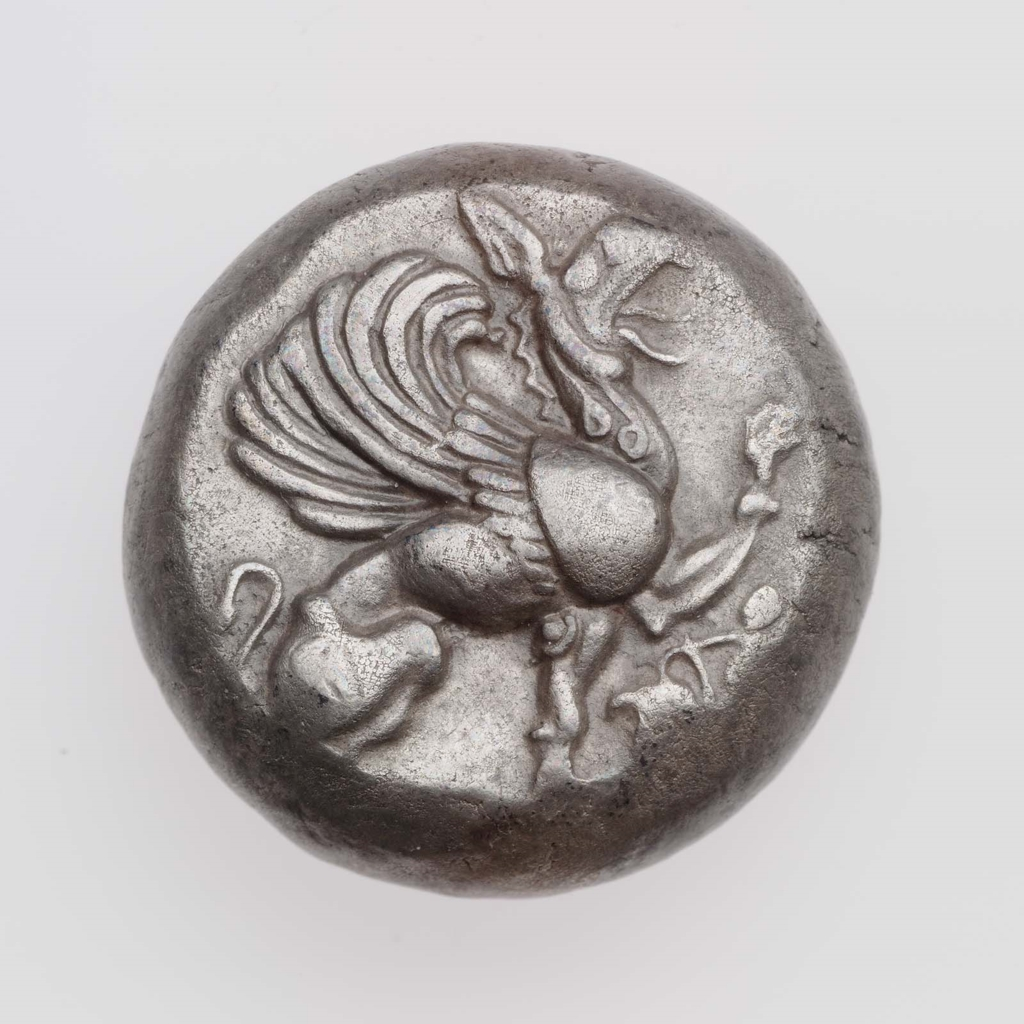 Stater of Teos 520–500 B.C.