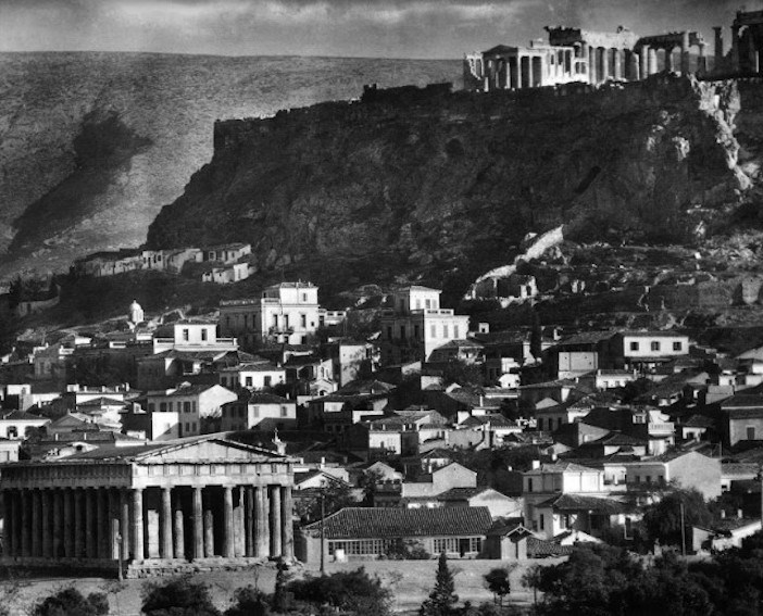 View of the Acropolis from Thiseio
