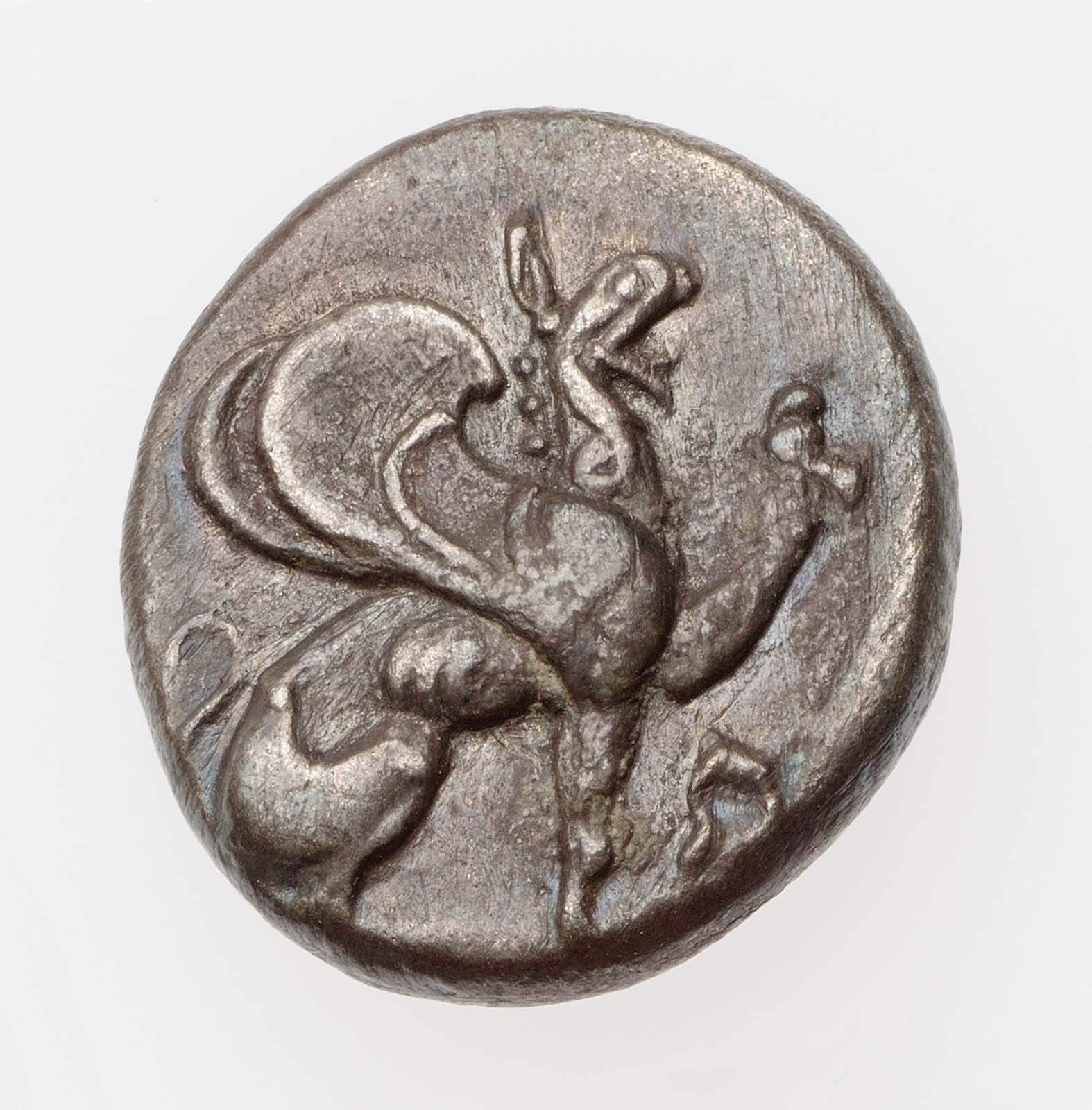 Trihemiobol of Teos 5th century B.C.