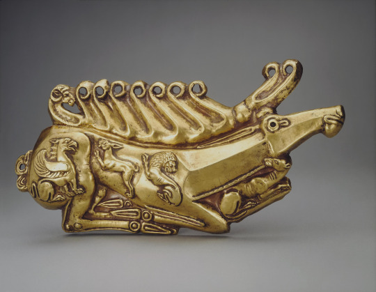 Scythian Gold Stag Plaque, 5th Century BC